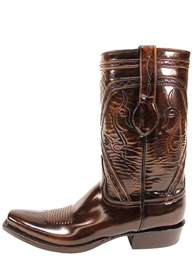 Beast Lucchese brown boots for men