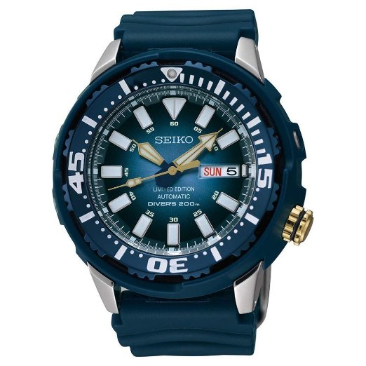 blue seiko watch for men