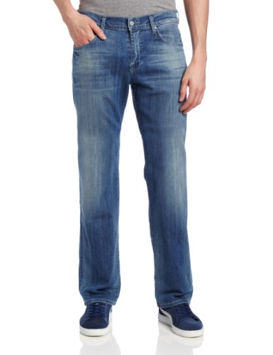 Relaxed Straight Leg Comfy Jeans for Guys