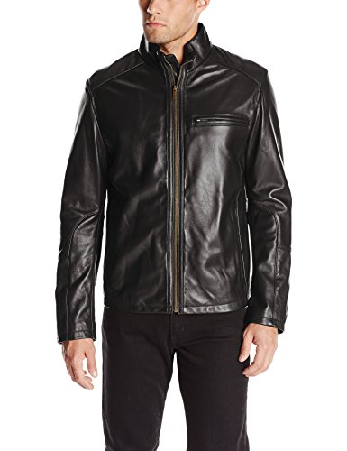 Smooth High Quality Black Leather Jacket for Guys