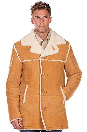 FANCY Sheepskin Wool Coat for Men