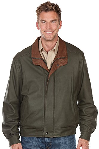 Smooth Lambskin Leather Jacket for Men