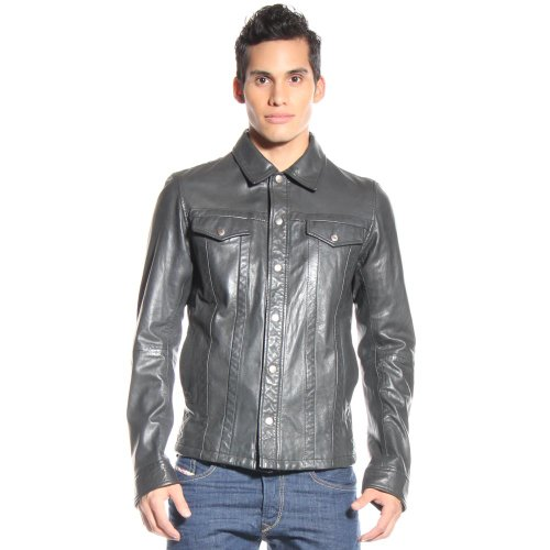 Fancy Leather Jacket for Young Guys