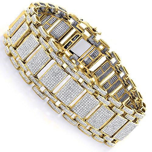 fancy diamonds bracelet for men