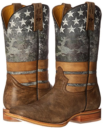 Tin Haul Men's Unique Freedom Design Western Cowboy Boots