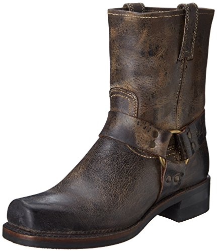 Men's Chocolate Brown Leather Cowboy Boots