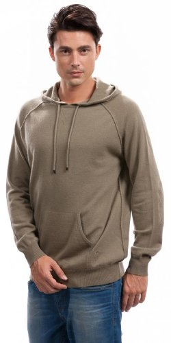 Men's 100% Cashmere Hoodies