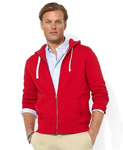 Polo Ralph Lauren Classic Men's Fleece Hoodie RED