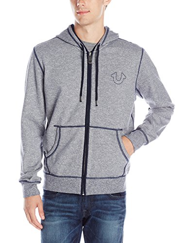 Men's Long Sleeve Zip-Up Hoodie Sweatshirt