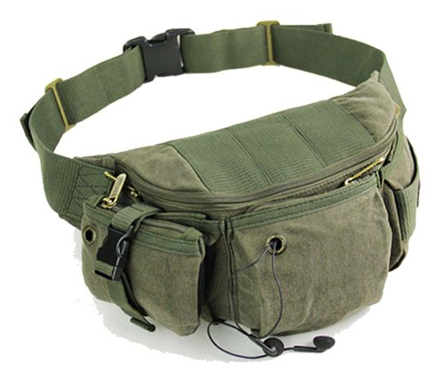 Nice Canvas Running Waist Bag Message Bag for Men