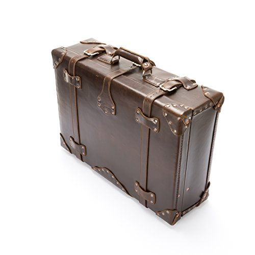 Full Grain Leather Suitcase
