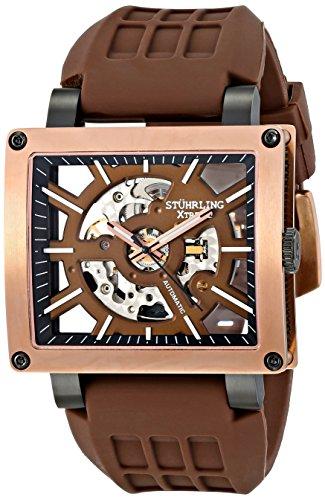 Stuhrling Original Men's Self Wind Brown Watch
