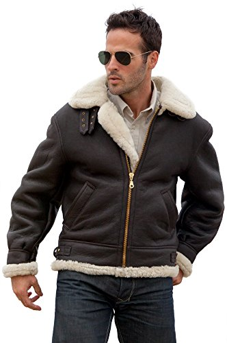 Luxurious Leather Bomber Jacket for Guys