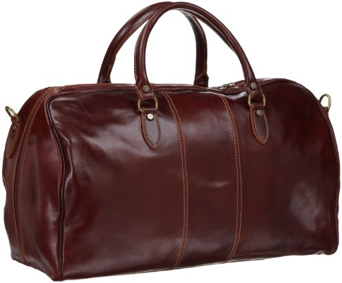 Beautiful Italian Leather Duffle Bag for Men
