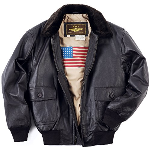 Leather Bomber Jacket for Men