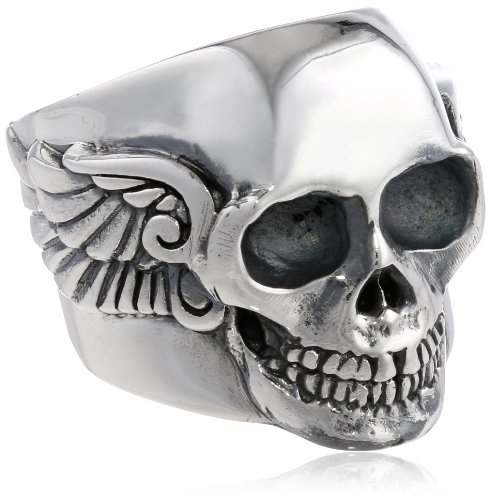 Gorgeous Skull Ring for Guys