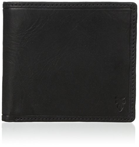 Distressed Leather Style Pull Up Billfold Wallet