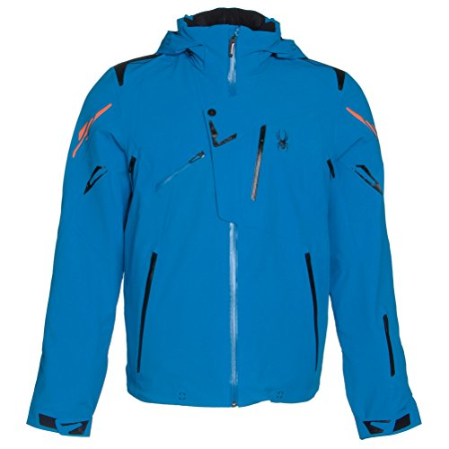 blue ski jacket for men