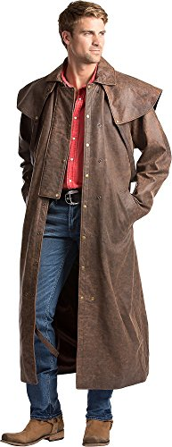 Men's Lambskin Leather Duster